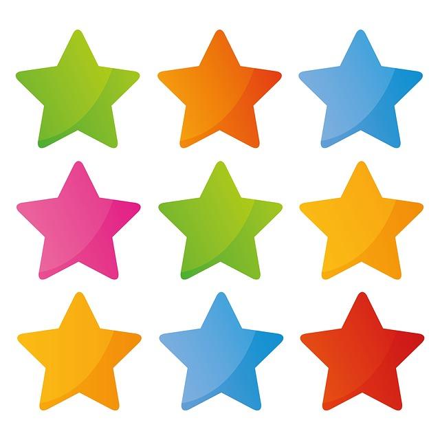 Number - Nine - Stars