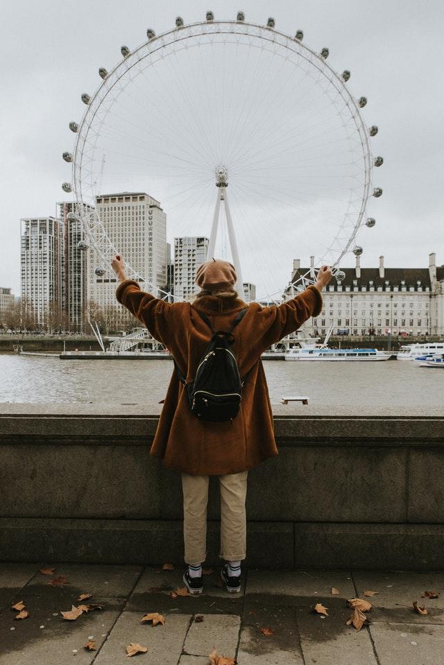 London Eye (Circumference is Pi x Diameter)