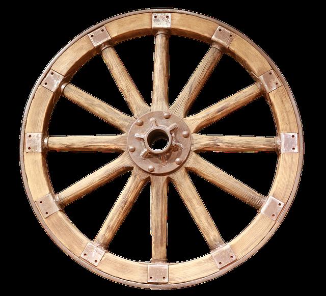 Wheel (Circumference is Pi x diameter)